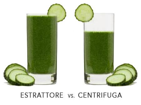 centrifuga vs estrattore