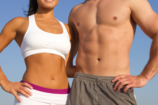 Flat stomach in 2-3 weeks by following these 3 simple rules